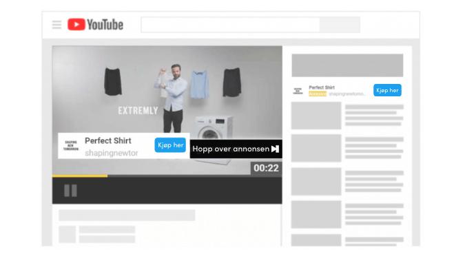 Google Ads videokampanjetype